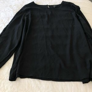 black blouse